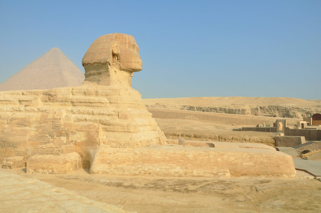 Фото Большого сфинкса в Гизе, Каир
