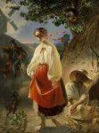 Тарас Шевченко - картина Катерина