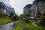 Водопад Штауббах в Швейцарии
