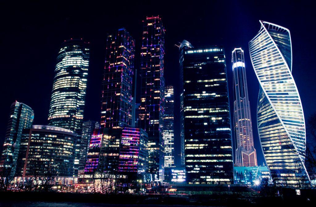 Небоскребы Москва Сити