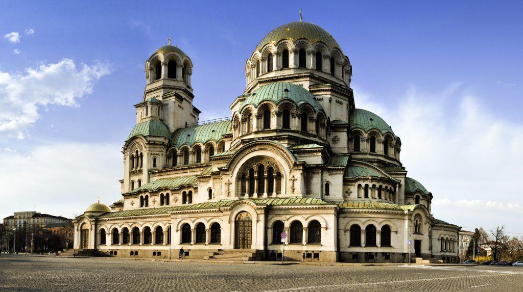 Фото храма Александра Невского в Софии