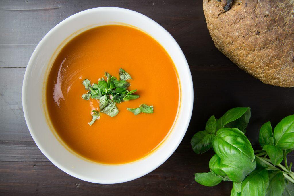 Тыквенный кремовый морковный суп пюре