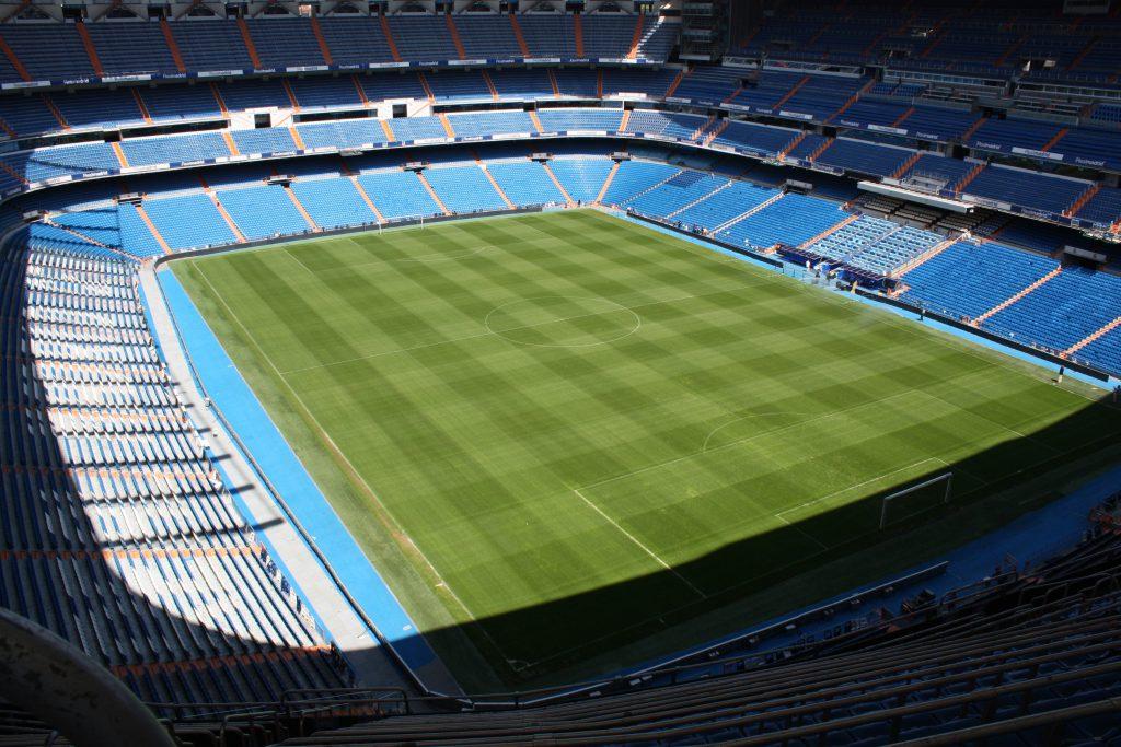 Фото футбольного стадиона Реал Мадрида