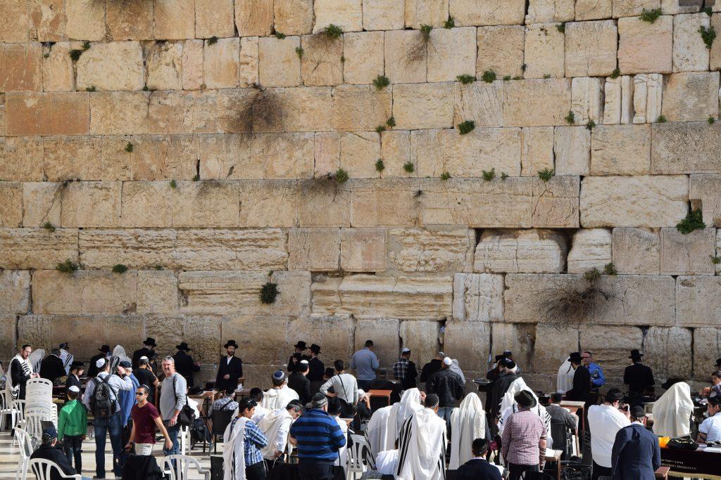 Фото Стены плача в Иерусалиме