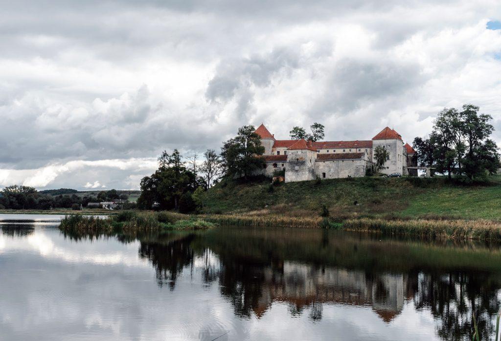 Свиржский замок стоковое фото