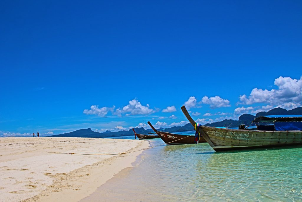 Курорт Краби, тропический пляж, Таиланд