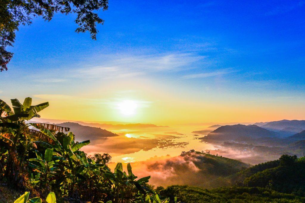 Тайланд река Меконг фото