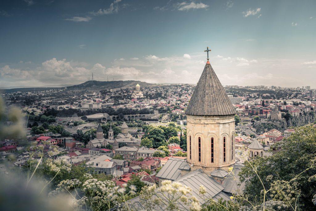 Фото центра Тбилиси