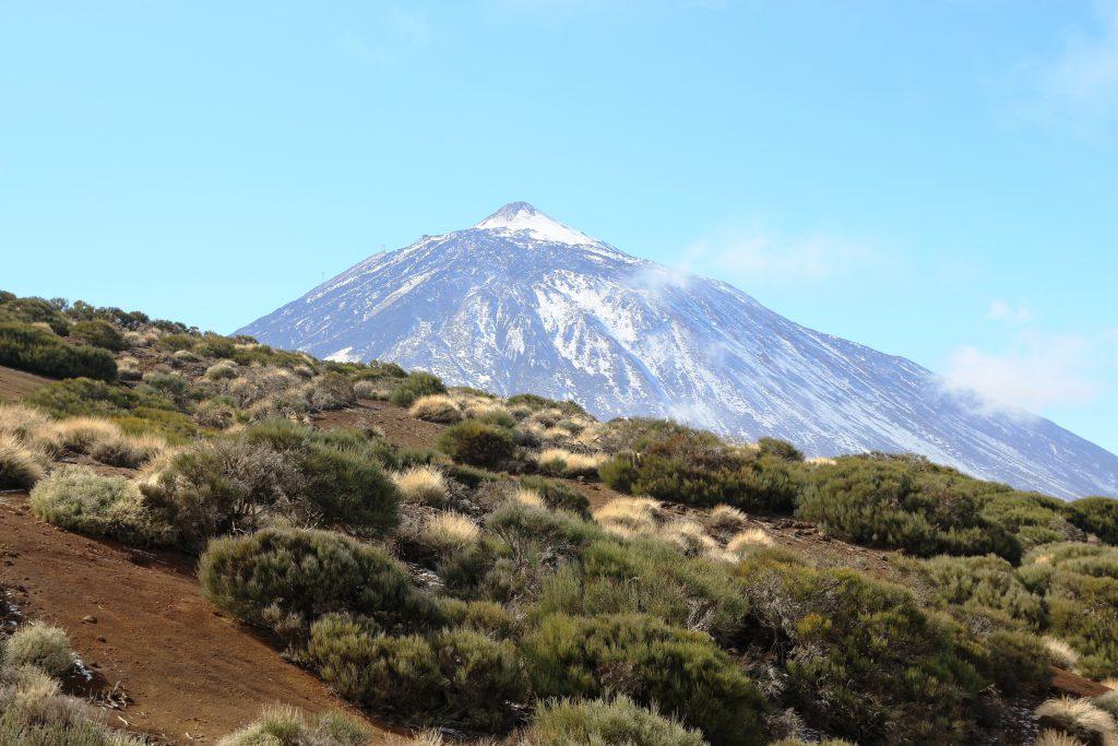 Фото вулкана Тейде на острове Тененифе
