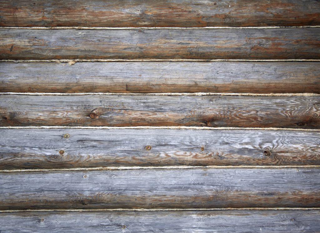 Старые бревна текстура, старинное деревянное здание, дом