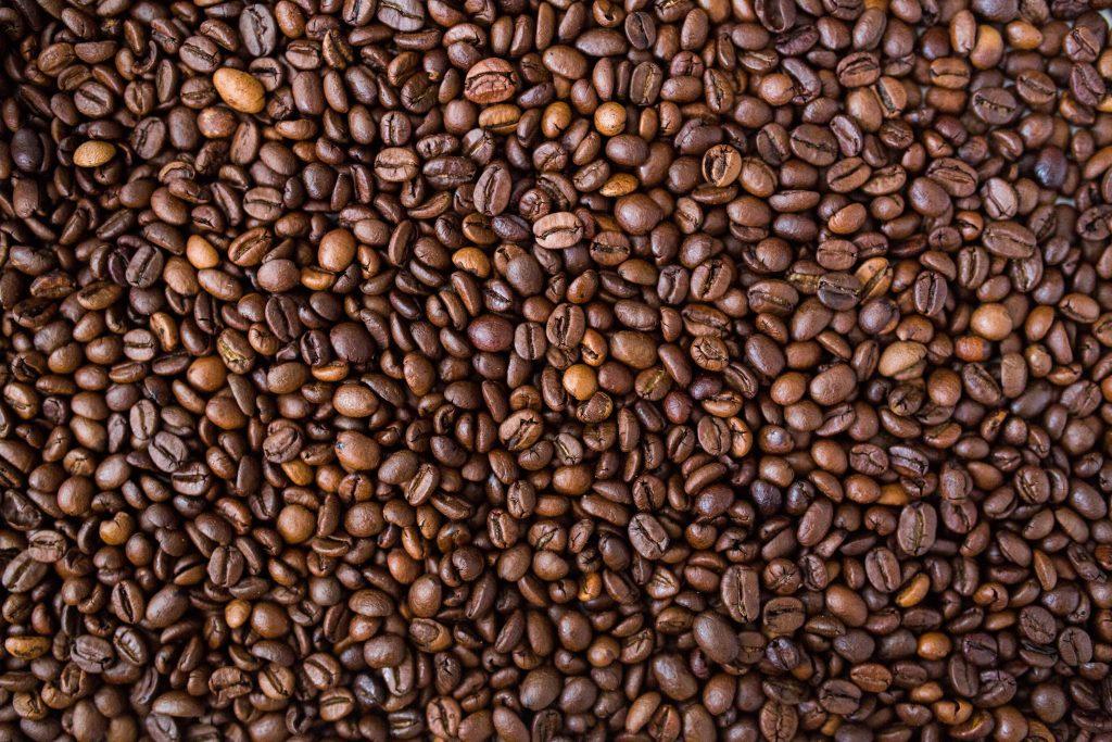 Текстура зерна кофе