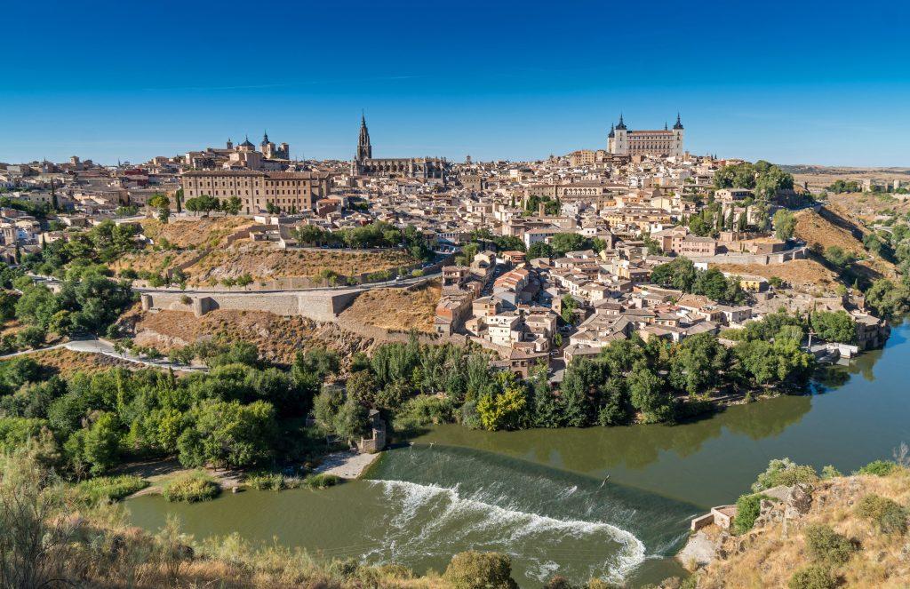 Город Толедо Испания