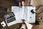 Планирование путешествия на карте