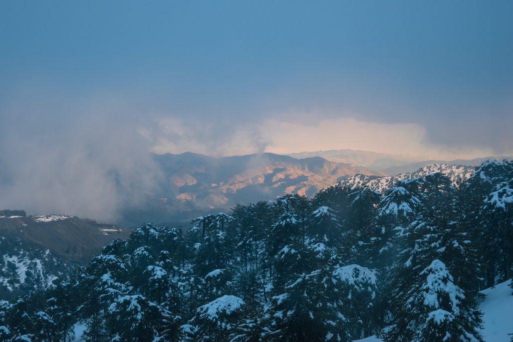 Кипр горы Тродос