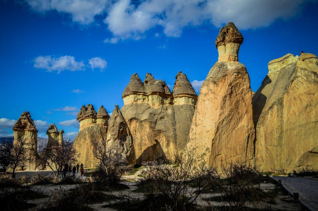 Каппадокия - волшебные скалы и дымоходы
