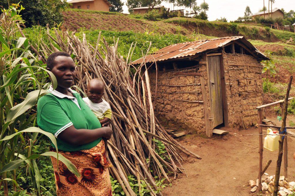 Фото деревни в Уганде