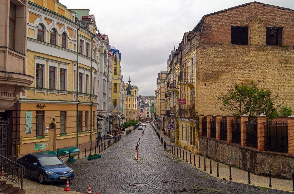 Старый Киев - район Подола