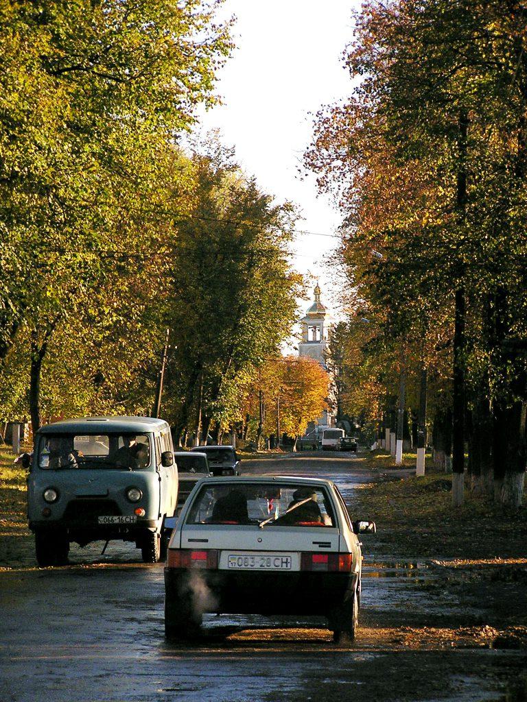 Украинская глубинка - провинциальный город