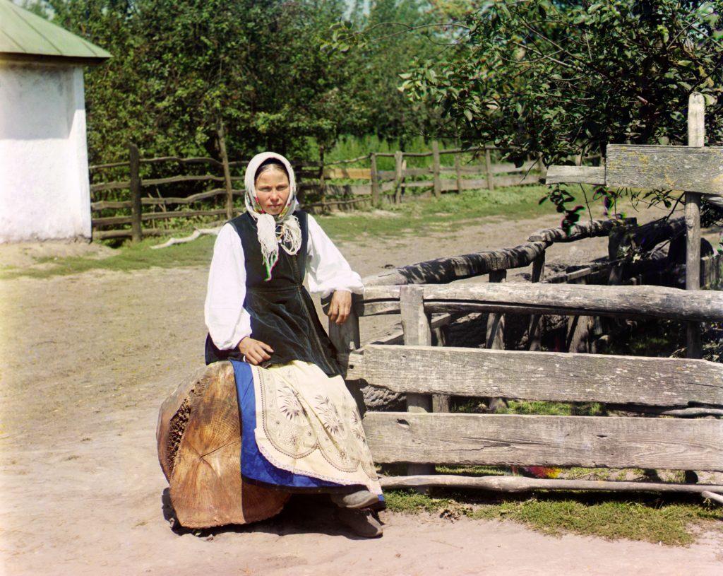 Девушка украинка ретро фото начала 20 века