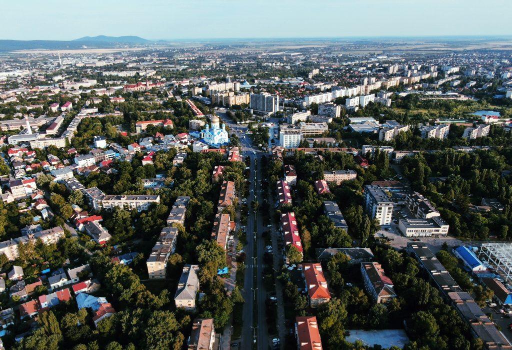 Панорама Ужгорода