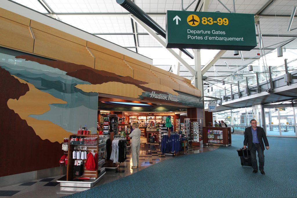 Аэропорт Ванкувера внутри