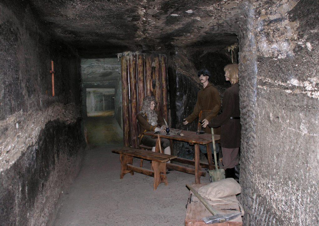 Подземная пещера, Соляная шахта Величка, Польша