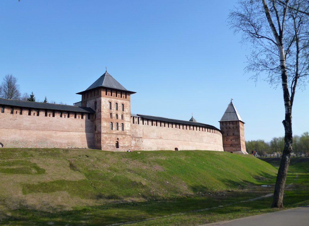 Крепость Кремль в Великом Новгороде