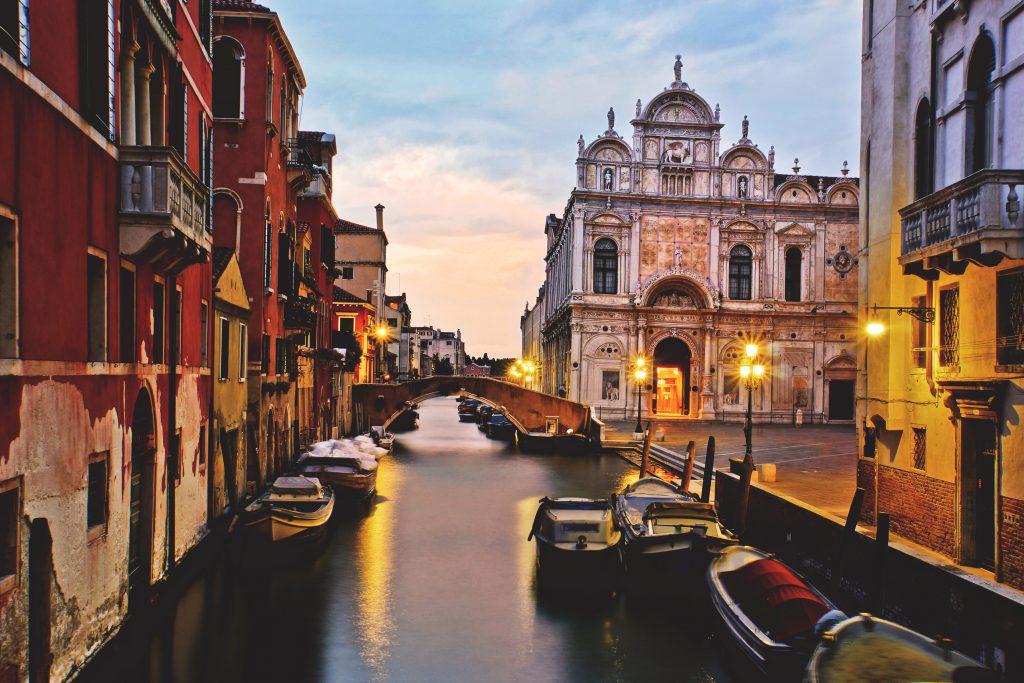 Закат в Венеции