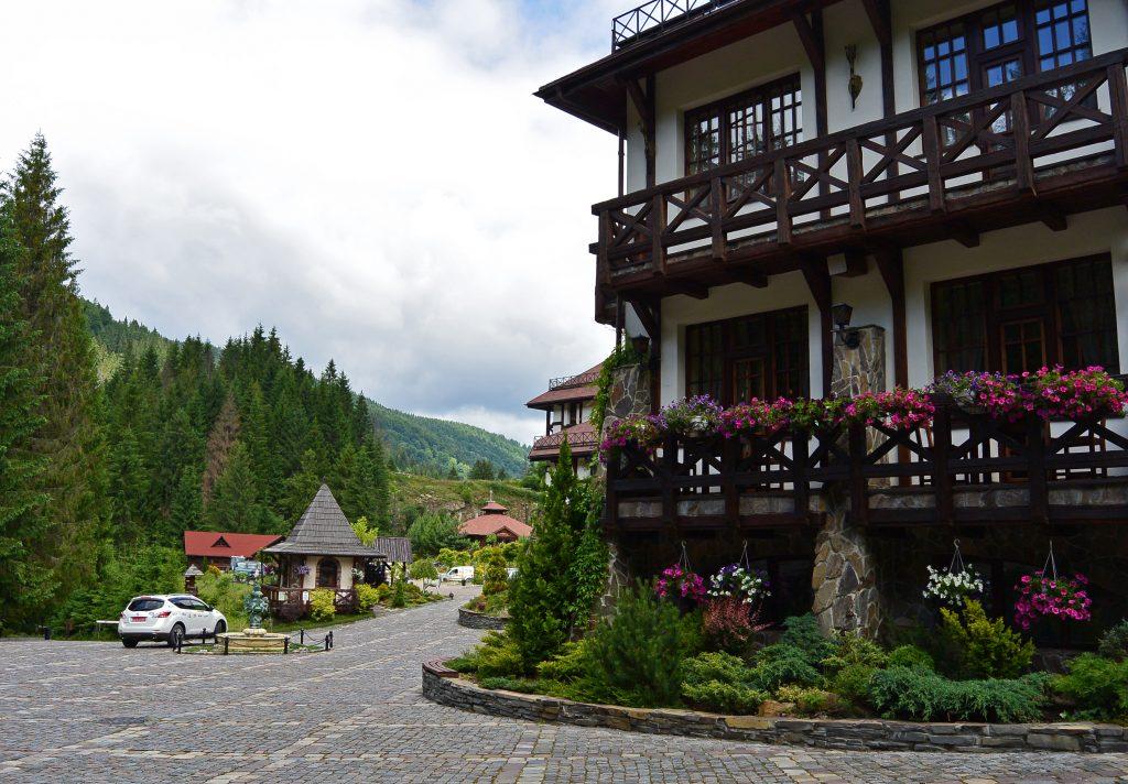 Горный отель Ведмежа вежа, Славское, Карпаты