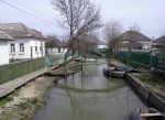 Вилково - город на воде, река Дунай, Украина