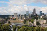 Панорама центра Вильнюса
