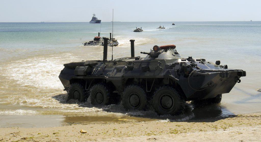 Украинский бронетранспортер амфибия фото