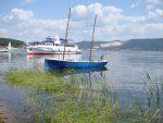Корабли на реке Волга в России