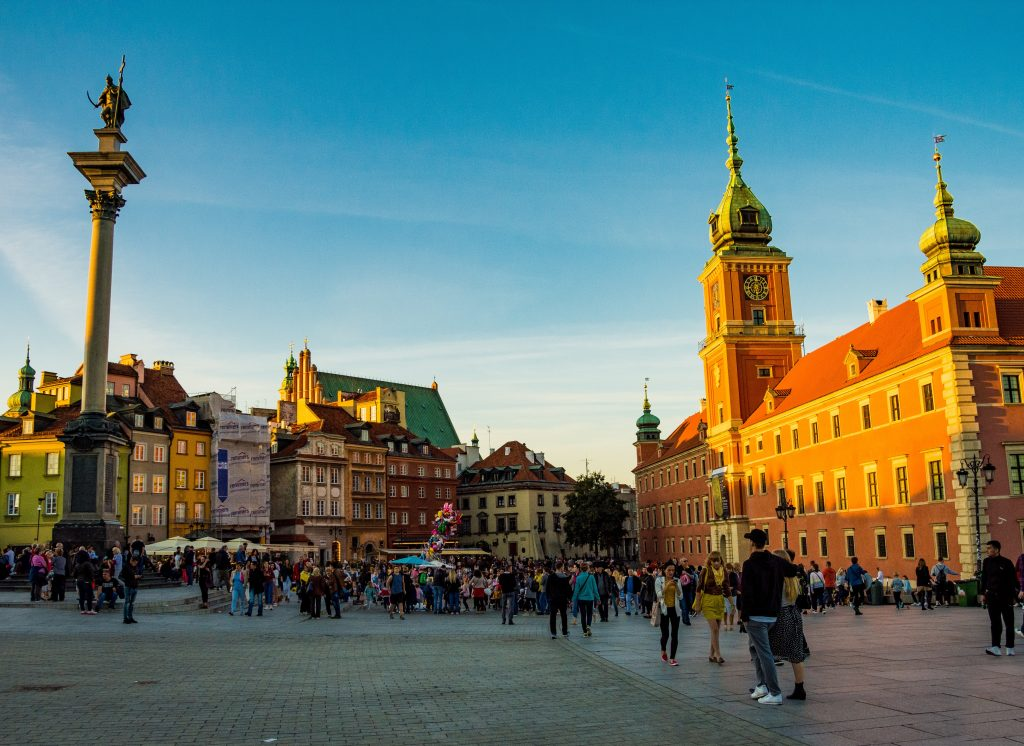 Фото центра Варшавы