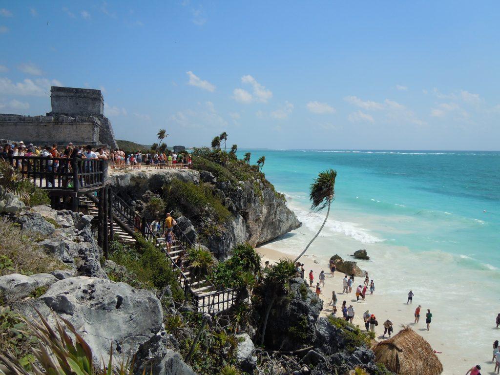Город майя Тулум, полуостров Юкатан