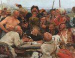 Илья Репин - Запорожцы пишут письмо турецкому султану
