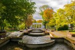 Осенний парк в Житомире фото